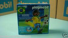 Playmobil 4707 Brazil soccer figure special  collectors Geobra NEW box MIBNO 156