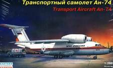 Antonov An-74 Emercom Russie Transporter Avion de transport 1:288 modèle-kit