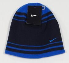 Nike Blue Knit Beanie Skull Cap Youth Boys 8-20 NWT