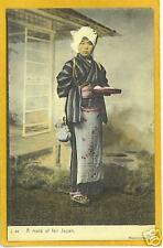 Japanese Postcard - Maid of Fair Japan - Rotograph J 44