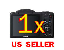 1x Canon PowerShot SX500 IS Camera Clear LCD Screen Protector Guard Shield Film