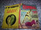 KRIMINAL N.6 ORIGINALE del 1965 CORNO TIPO SATANIK-DIABOLIK-MAGNUS-FORD