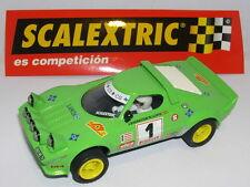 SCALEXTRIC ESPAGNE ALTAYA RALLYES D'ESPAGNE LANCIA STRATOS J. BRAGATION 1979