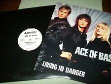 Ace of Base          **PROMO VINYL LOT**       Living In Danger -- Cruel Summer