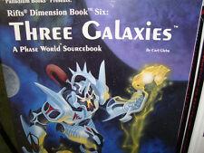 NEW! THREE GALAXIES PALLADIUM  RPG RIFTS DIMENSION BOOK 6