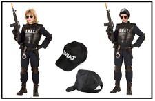 SWAT Agent SET Undercover Polizist Jungenkostüm Kinderkostüm Karneval  , K