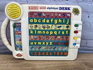 90s VTech Little Smart Alphabet Desk Educational 8 Activities Spelling Phonics
