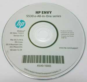 CLONE - HP Printer CD Driver Software Disc for Envy 5530 5532 all in One series