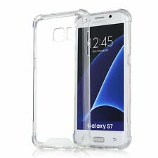 Samsung Galaxy S7 Full Body Hybrid TPU Transparent Case Cover Clear