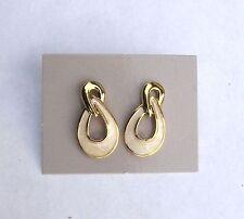 1988 Avon Tailored Loop Pierced Earrings