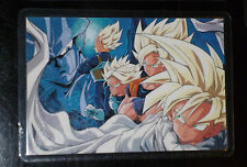 DRAGON BALL Z GT DBZ LAMINATE CARDDASS RAMI CARD CARTE 100 A 1192 AMADA JAPAN