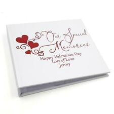 Live Love explorar Scrapbook álbum de fotos espiral 40 Hojas de cinta lazo HTCA