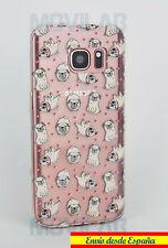 Funda carcasa gel / TPU Samsung G9230F Galaxy S7 dibujos perros Carlino