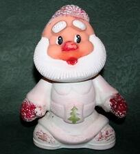 Vtg Soviet Rubber SANTA DED MOROZ 16 cm CHRISTMAS NEW YEAR Russian Doll Toy USSR