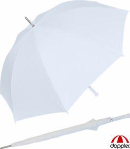 Regenschirm XXL Doppler Wedding Golf Partnerschirm  groß Hochzeit - weiss