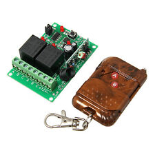 12V 2 Channel Wireless Relay module,remote controller RF receiver & Transmitter