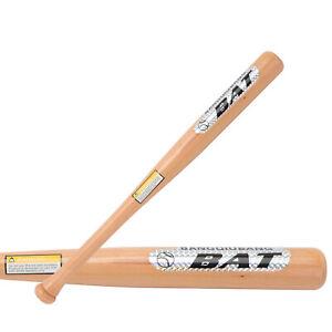 63cm Wooden Heavy Duty Wooden Baseball Bat Outdoor Sports Softball Bat
