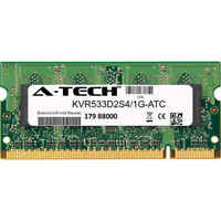 1GB DDR2 PC2-4200 533MHz SODIMM (Kingston KVR533D2S4/1G Equivalent) Memory RAM