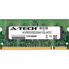 1GB DDR2 PC2-4200 533MHz SODIMM (Kingston KVR533D2S4/1G Equivalent) Memory RAM