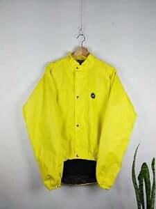 Vintage Castelli Gore Tex Cycling Jacket Yellow
