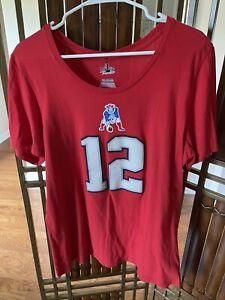 New England Patriots Majestic Fan Fashion Women's 2xL Tom Brady T-Shirt