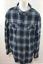 COLUNBIA MEN'S PLAID MESH LINED LONG SLEEVE OUTDOOR SHIRT SIZE 3X/3TF A23-29