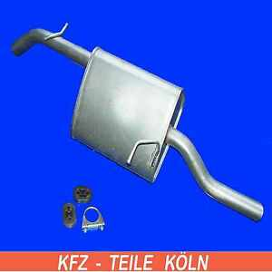 Daewoo Nubira 2.0 Muffler Back Box Exhaust Silencer