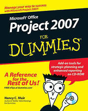 Microsoft Office Project 2007 For Dummies (For Dummies (Computers))-ExLibrary