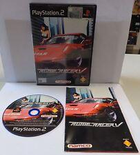 Gioco Game SONY Playstation 2 PSX2 PS2 PAL ITALIANO RIDGE RACER V 5 - Namco - IT