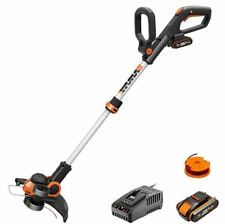 Brand New WORX WG163E 20V MAX Cordless Grass Trimmer + 2Ah Battery + Charger