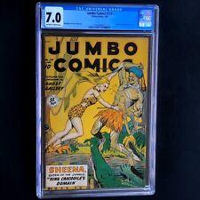 Jumbo Comics #119 (1949) 💥 CGC 7.0 💥 MATT BAKER Art Sheena Fiction House Comic