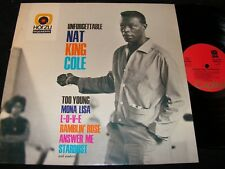 NAT KING COLE Unforgettable Nat King Cole / German LP HÖR ZU CAPITOL SHZE 147