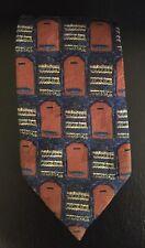 Ermenegildo Zenga Folded Shirt Print Tie
