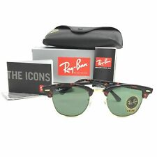 Ray Ban Clubmaster Tortoise/green  RB3016-W0366-51mm