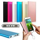Ultrathin 20000/50000mAh Portable Charger Dual USB External Battery Power Bank