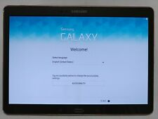 Samsung Galaxy Tab S 10.5 SM-T800 Android 6.0.1 WiFi 16GB Titanium Bronze Tablet