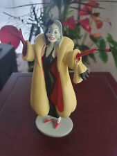 Extremely Rare! Walt Disney 101 Dalmations Cruella Standing Figurine Statue