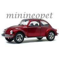 SOLIDO S1800512 1974 VW VOLKSWAGEN BEETLE 1303 1/18 DIECAST MODEL CAR RED