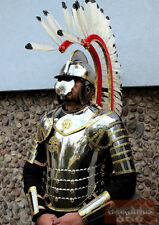 Medieval Full Body Hussars Armor Suit Larp Costume Museum Replica