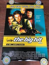 THE BIG HIT 27X40 DS MOVIE POSTER ONE SHEET NEW AUTHENTIC