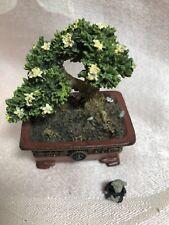 Boyds Bear Treasure Box Mr Chen's Bonsai Tree With Zen McNibble