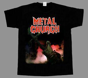 METAL CHURCH OVERKILL METALLICA NEW BLACK SHORT/LONG SLEEVE T-SHIRT