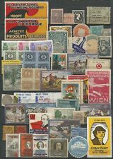World Wide Lot of 50 Poster Labels     #155