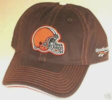 NFL Cleveland Browns Brown One Size Fits All Slouch Fitted Hat By Reebok