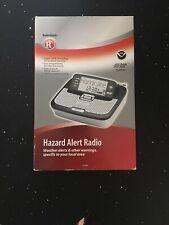 Radio Shack Hazard Alert Radio (Weather Alerts & Other Warnings) 12-262 ~ NEW