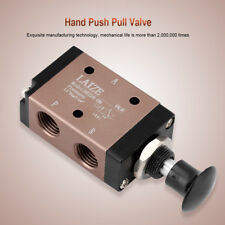 Pneumatic G1/4 2Position 3Way Manual Hand Push Pull Air Valve Control 3R210-08 e