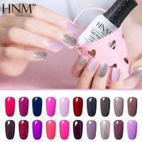 Soak Off Color Nail Gel Polish Base Top Manicure UV LED Nail Art Salon Gift HNM