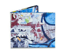Sticker Bomb Tyvek Mighty Wallet Bi-Fold Wallet by Dynomighty