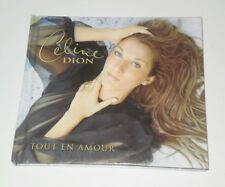 CELINE DION - TOUT EN AMOUR - Special french numbered edt with 12 photocards -VR