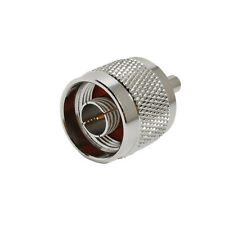 N male plug to MCX female jack straight adapter